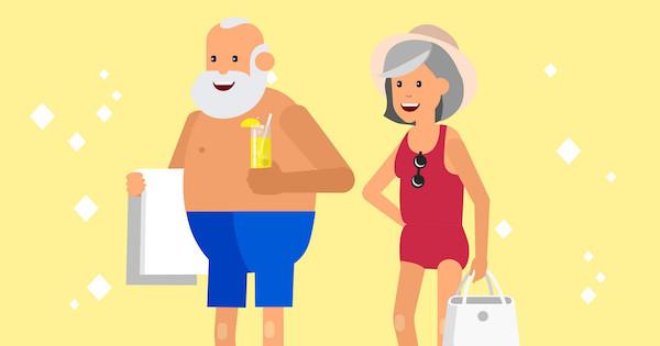 Colonia marina per anziani